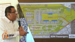 alex caugiran clark international airport development plan
