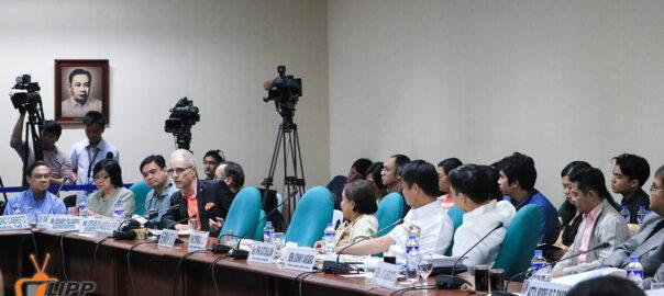 Dr. Andreas Klippe in Senate Hearing