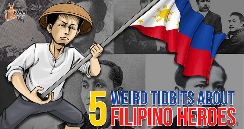 Hero holding Philippine flag