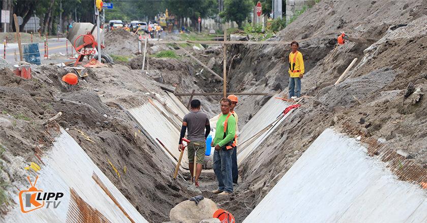 clark road widening construction 2