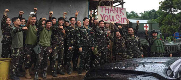 Philippines Marawi soldiers