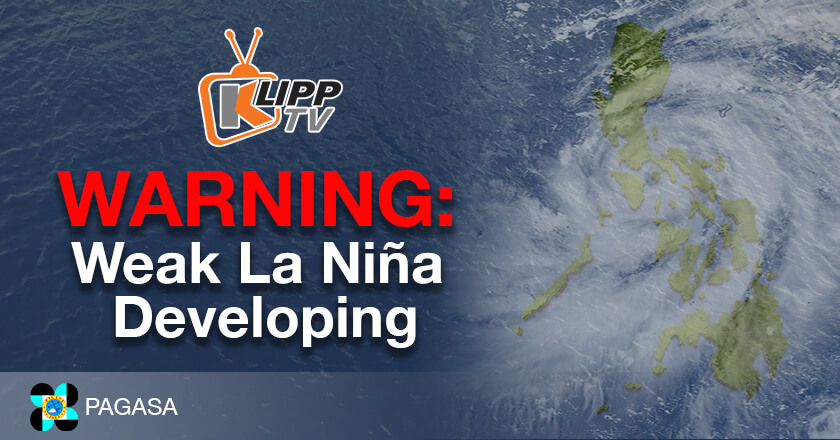Pagasa warning for La Niña