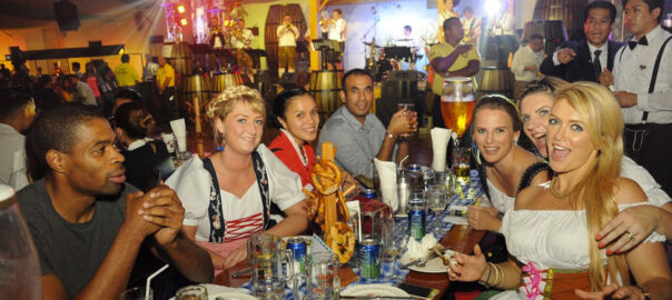 happy guests at german club manila