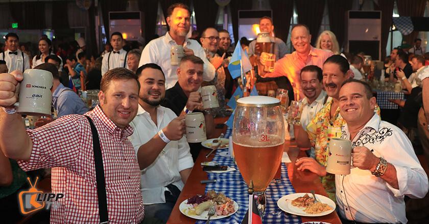 Club manila member celebrate oktoberfest