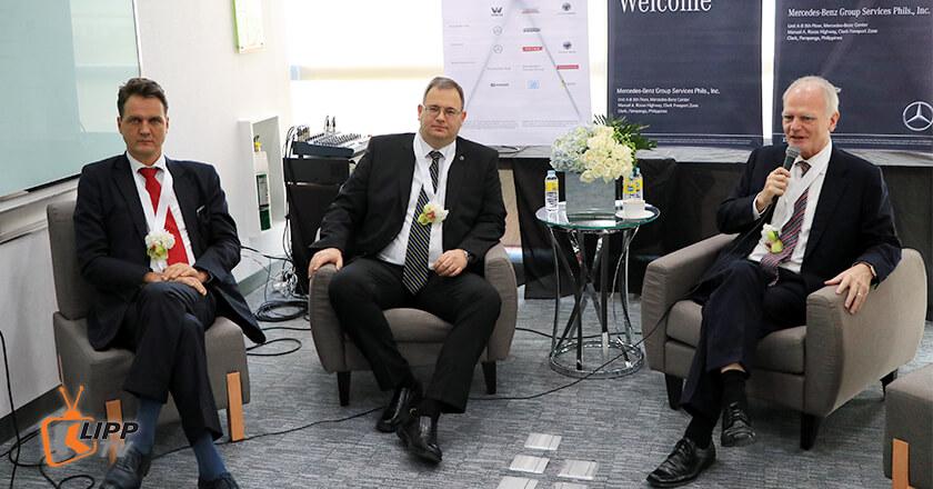 EU's Ambassador Franz Jessen and Nitsche