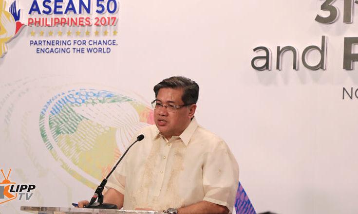 Man speaking in ASEAN 2017