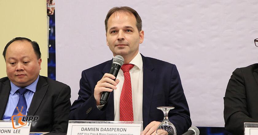 AIAP Vice President Damien Damperon