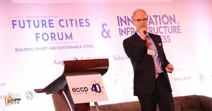 Dr. Andreas Klippe, President & CEO of Flood Control Asia RS Corp.