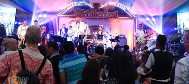 Oktoberfest band playing music