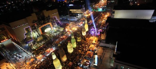 Tigtigan terakan king dalan festivity