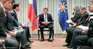 President Roa Rodrigo Duterte