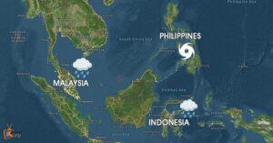 Averse Holiday Weather Hit SEA Image